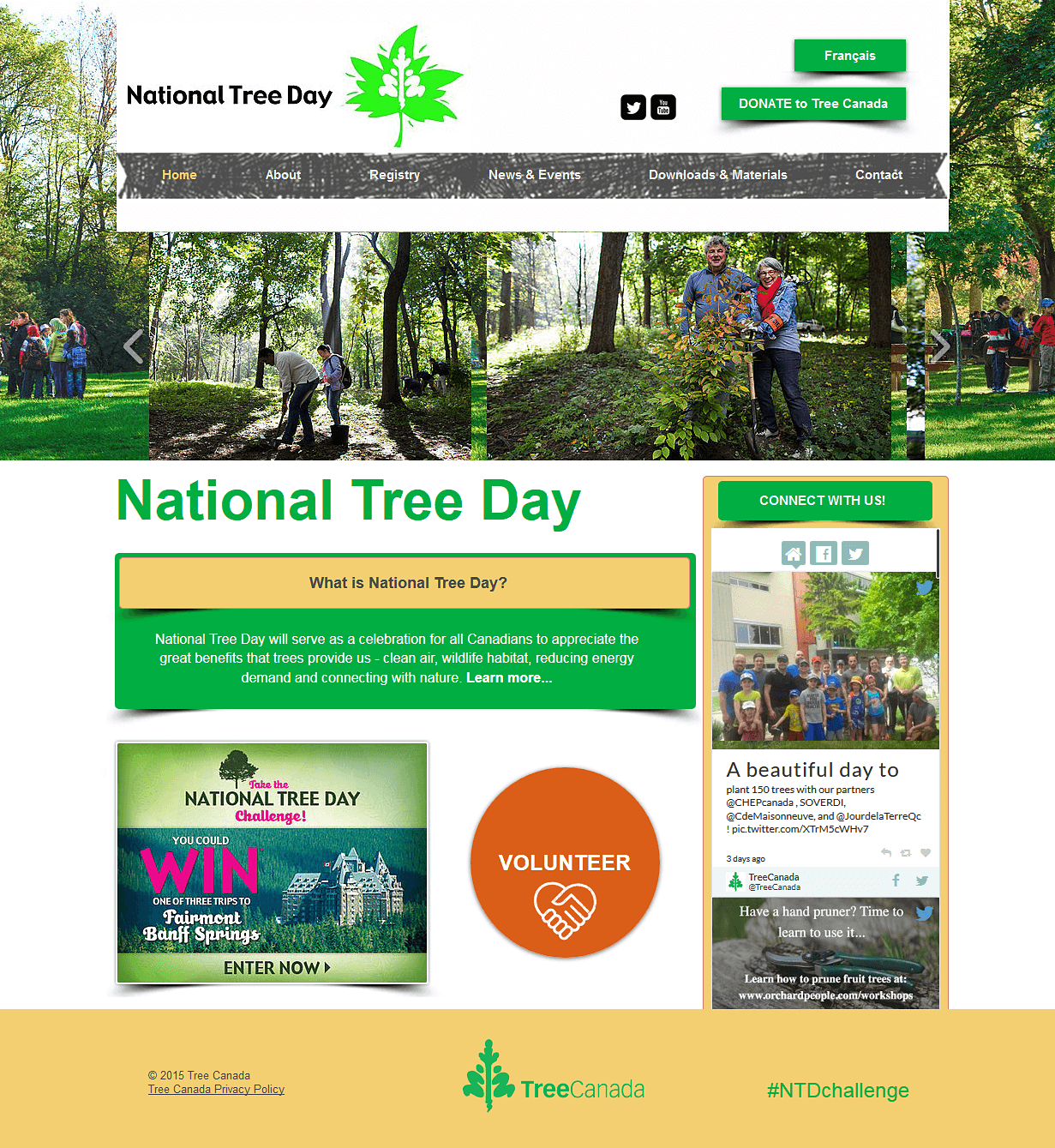 National Tree Day website