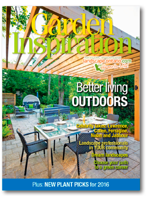 Garden Inspiration magazine cover March 2016