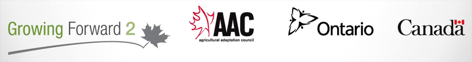 Growing Forward 2, Agricultural Adaptation Council (AAC), Government of Ontario and Government of Canada