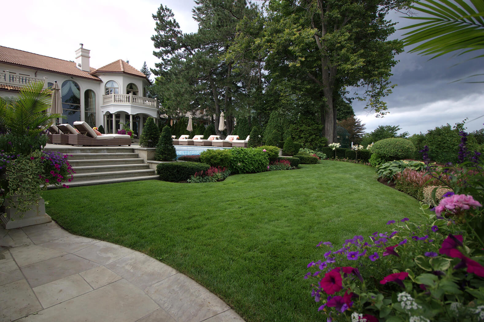 Shades of Summer Landscaping and Maintenance received the National Award of Landscape Excellence for Residential Maintenance.