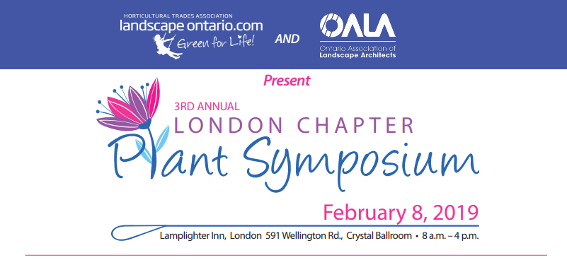 3rd annual london chapter plant symposium feb. 8, 2019
