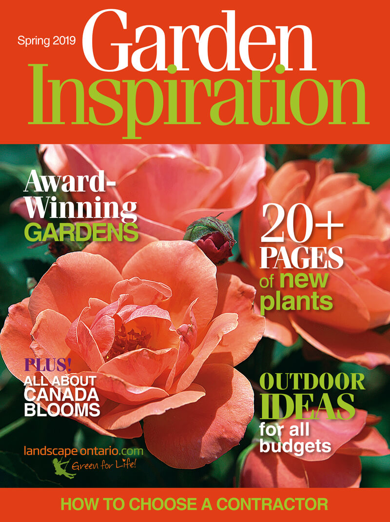 Cover of Garden Inspiration magazine Spring 2019