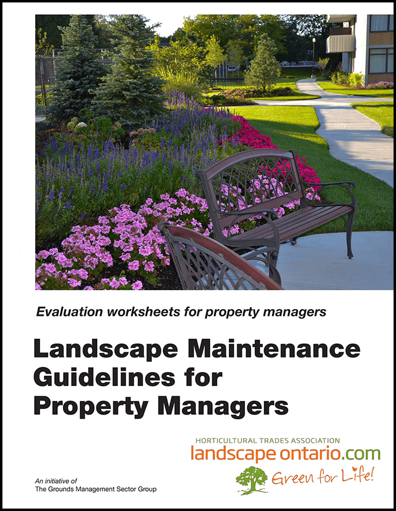 Landscape Maintenance Guidelines for Property Managers cover
