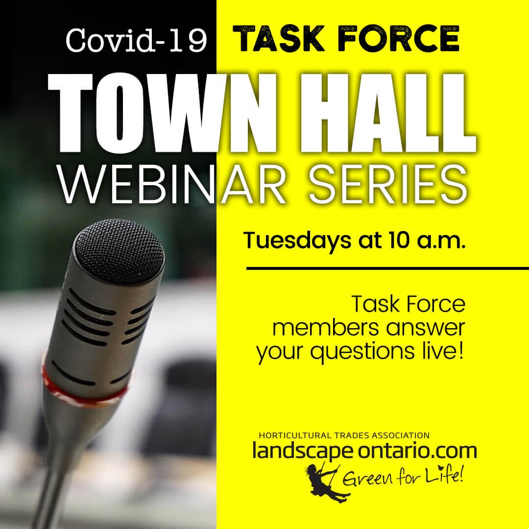 Town Hall Webinar - April 14, 2020