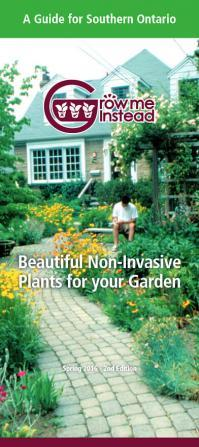 Grow me instead. Beautiful non-invasive plants for your garden