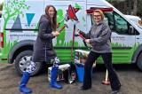 The prize table was so good that Paige Wentworth and Natasha Egorovenko had to get a van.