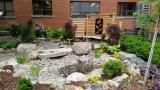 Milton District Hospital's new Serenity Garden.