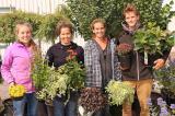 NVK Holdings' staff (L-R): Alexandra DeHaan, Lindsay Jack, Erica Helder, Jonas Vanden Brink.