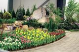 A collaborative team effort by Ottawa Chapter created a colourful one-of-a-kind garden at the Ottawa Home and Garden Show.