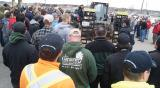 A hands-on truck inspection brought everyone outside during the Gear Up for Spring Event.