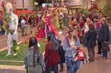 From opening day, Mar. 14, to closing day, Mar. 23, crowds enjoyed the amazing gardens and displays at Canada Blooms. The fashion show of floral clothing was a big hit.