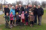 Students at John William Boich Public School enjoyed the annual Arbor Day Tree Planting on April 30, thanks to the Golden Horseshoe Chapter.