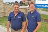 Adrian Van Dongen, president, and Michael Van Dongen, supervisor, are leading the garden centre into the future.