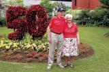 Margaret and Ivan Stinson are an inspiring couple, who organized the Garden Day event that celebrated the University of Guelph's 50th anniversary.