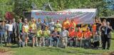 Over 45 Landscape Ontario volunteers helped to complete this year's school greening project in Waterloo Chapter.