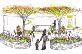Tyler Speirs created this design for the centre stage garden at the Thornbury Home and Garden Show.