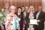 The London Middlesex Master Gardeners' community service project 'From Seeds to Your Table' received the Landscape Ontario Award, presented by LO's public relations director Denis Flanagan.