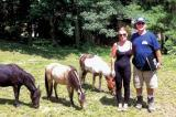 Derek Geddes of Coldstream Land Escape Company in London and his wife enjoy raising miniature horses. Geddes is a director on the London Chapter Board.