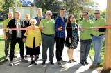 National Tree Day was a proud time for the Waterloo Chapter as members took part in the cutting of the ribbon to open new garden area at Elmira District Secondary School.