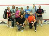 The Upper Canada Chapter squash tournament attracted an excellent and varied field to the first-ever event.