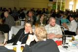 A few of the 190 in attendance take a break from the full-day of education at the annual Growers Short Course in Guelph.