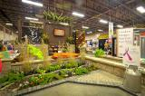 Vistors to the Kitchener/Waterloo Home and Garden Show  had a great first impression walking through the entrance garden created by TNT Landscaping.
