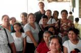 Vince Vetro with some of the women he is helping achieve business success in Ecuador.
