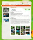 An example of how one member's page looks on landscapeontario.com, a benifit of membership.