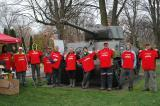 LO volunteers show off their special T-shirts honouring the Ottawa Chapter's Annual Day of Tribute.