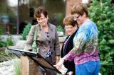 Community enjoys garden that honours memory.