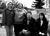 The management team at Green Thumb Landscaping, from left: Keri Thomas, Kathy Thomas, Todd Rainey and Melanie Girouard.