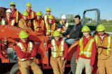 The online safety training has helped Fanshawe students become familiar with large equipment before they use it.