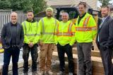 (L-R): Chris Mace, Finlay Gifford, Darren McDonough, Shawn Lefebvre, Dave Blankestijn, Nathan Helder.