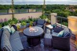 Condo living offers great outdoor space.