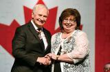 Linda Follett-Ryan was recognized by the Governor General for her volunteer efforts.