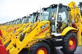 JCB equipment celebrates its 70th anniversary  with limited edition backhoes.