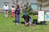 Volunteers broke ground for the Humbolt Urban Garden Sanctuary in June 2021.