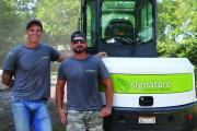 Co-owners Brent Tripp and Daniel Button are very happy with the success of their business after just six years in operation.