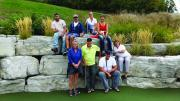 LO members worked on a different kind of green at the Georgian Lakelands Chapter Putting Challenge.