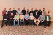 Landscape Ontario's Provincial Board of Directors at the AGM on Jan. 10, 2018.