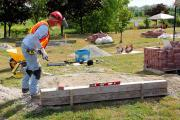 Demonstrating safe work practices is a requirement for Landscape Industry Certification.