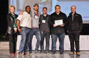 Feature garden builder awards were presented on Mar. 17 at Canada Blooms.