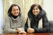 Humber College horticulture technician program graduates Elizabeth Tuntevska (left) and Jacqueline Silva served on the advisory committee for the advancing women in horticulture through mentorship pilot project.
