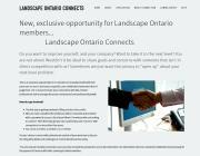 Members have a new networking tool at landscapeontarioconnects.com that enables them to share goals and concerns and help one another.