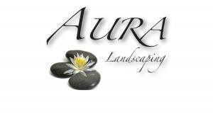 Aura Landscaping logo