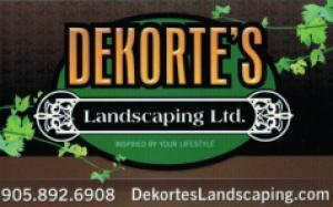 DeKorte's Landscaping Ltd logo