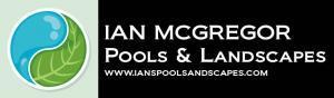 Ian McGregor Pools & Landscaping logo