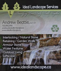 Ideal Landscape Services logo