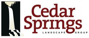 Cedar Springs Landscape Group logo