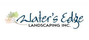Water's Edge Landscaping logo